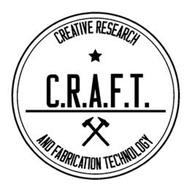 CREATIVE RESEARCH C.R.A.F.T. AND FABRICATION TECHNOLOGY
