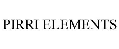 PIRRI ELEMENTS