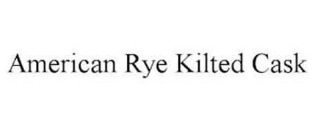 AMERICAN RYE KILTED CASK