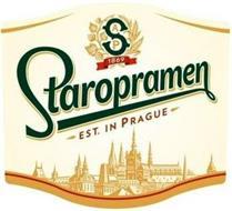 SAP 1869 STAROPRAMEN EST. IN PRAGUE