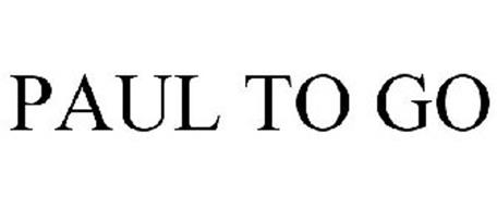 PAUL TO GO