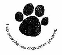 HELP NEUTRALIZE YOUR DOG'S CARBON PAWPRINT.