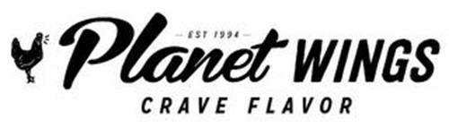 PLANET WINGS - EST 1994 -  CRAVE FLAVOR