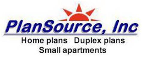 PLANSOURCE, INC HOME PLANS DUPLEX PLANS SMALL APARTMENTS