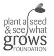 PLANT A SEED & SEE WHAT GROWS FOUNDATION