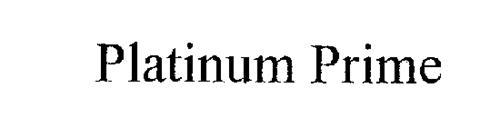 PLATINUM PRIME