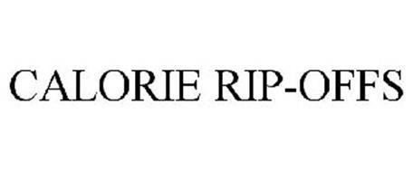 CALORIE RIP-OFFS