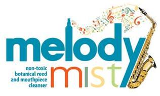MELODY MIST NON TOXIC BOTANICAL REED AND MOUTHPIECE CLEANSER