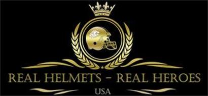 REAL HELMETS - REAL HEROES USA