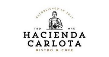 ESTABLISHED IN 2017 TRD MRK HACIENDA CARLOTA BISTRO & CAFE