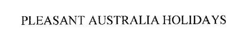 PLEASANT AUSTRALIA HOLIDAYS