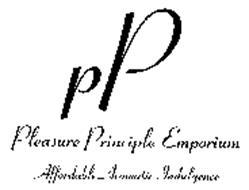 PP PLEASURE PRINCIPLE EMPORIUM AFFORDABLE AROMATIC INDULGENCE