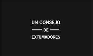 UN CONSEJO DE EXFUMADORES