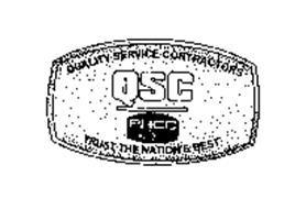 QSC PHCC QUALITY SERVICE CONTRACTORS TRUST THE NATION'S BEST