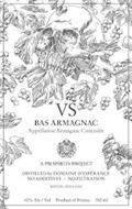 VS BAS ARMAGNAC APPELLATION ARMAGNAC CONTROLEE A PM SPIRITS PROJECT DISTILLED BY DOMAINE D'ESPERANCE NO ADDITIVES ~ NO FILTRATION BATCH:2019-1-1200 40% ALC/VOL PRODUCT OF FRANCE 750 ML