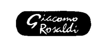 GIACOMO ROSALDI