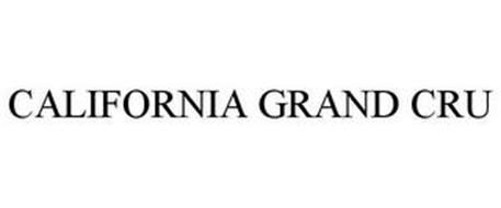 CALIFORNIA GRAND CRU
