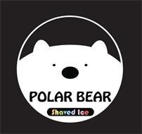 POLAR BEAR SHAVED ICE