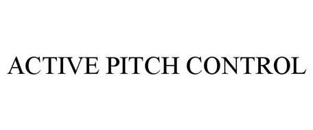 ACTIVE PITCH CONTROL
