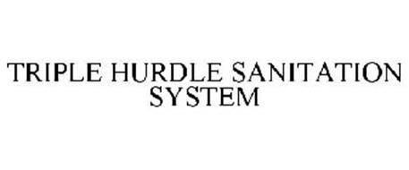TRIPLE HURDLE SANITATION SYSTEM
