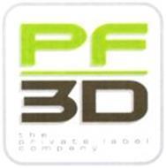 PF 3D THE PRIVATE LABEL COMPANY