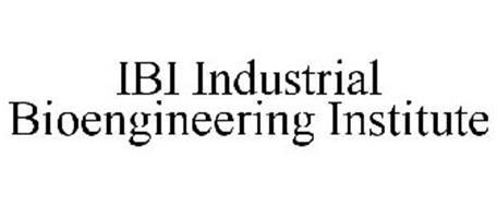 IBI INDUSTRIAL BIOENGINEERING INSTITUTE