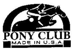 PONY CLUB MADE IN U.S.A.