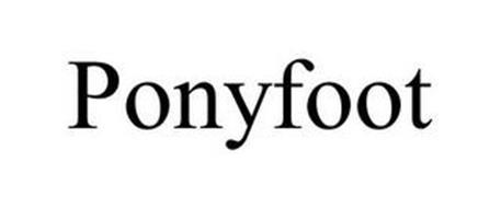 PONYFOOT