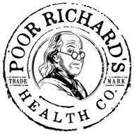 POOR RICHARD'S HEALTH CO. TRADE MARK