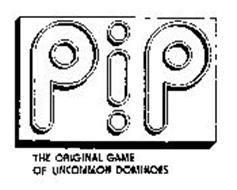 PIP THE ORIGINAL GAME OF UNCOMMON DOMINOES
