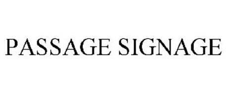 PASSAGE SIGNAGE