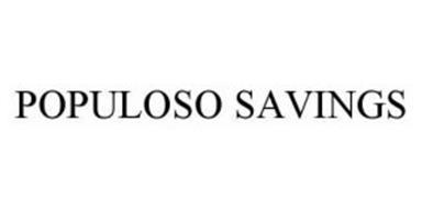 POPULOSO SAVINGS