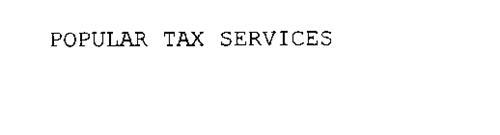 POPULAR TAX SERVICES