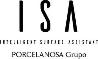 ISA INTELLIGENT SURFACE ASSISTANT PORCELANOSA GRUPO