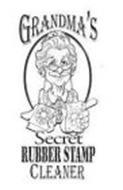 GRANDMA'S SECRET RUBBER STAMP CLEANER