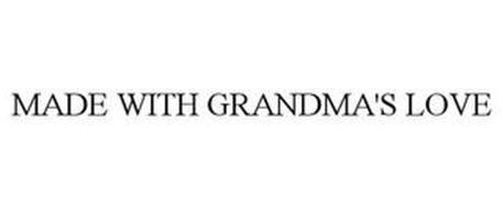 MADE WITH GRANDMA'S LOVE
