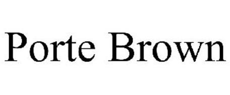 porte brown trademark of porte brown llc serial number