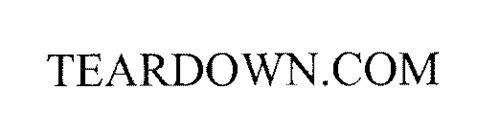 TEARDOWN.COM