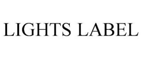 LIGHTS LABEL