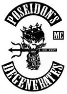 POSEIDON'S DEGENERATES MC X XIII LXXV