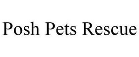 POSH PETS RESCUE