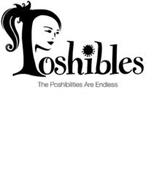 POSHIBLES THE POSHIBILITIES ARE ENDLESS