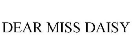DEAR MISS DAISY