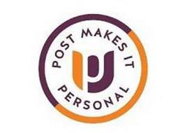 PU POST MAKES IT PERSONAL