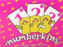 NUMBERKINS 1 2 3 A MAGNET LEARNING GAME