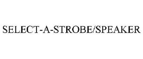 SELECT-A-STROBE/SPEAKER