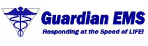 GUARDIAN EMS RESPONDING AT THE SPEED OF LIFE!