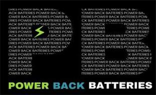 PB POWER BACK BATTERIES