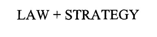LAW + STRATEGY
