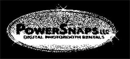 POWERSNAPS LLC DIGITAL PHOTOBOOTH RENTALS
